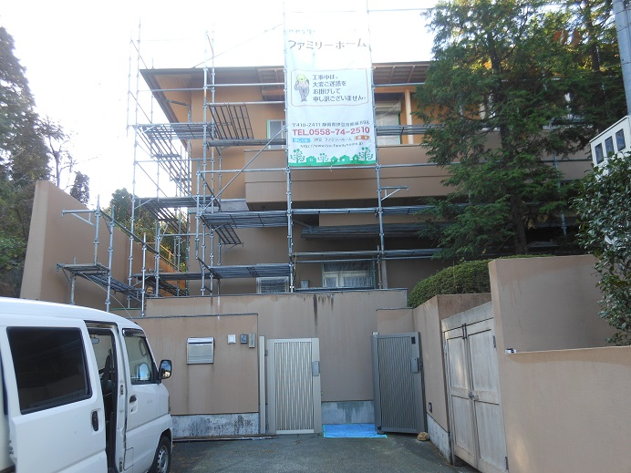 函南町E様邸塗装工事