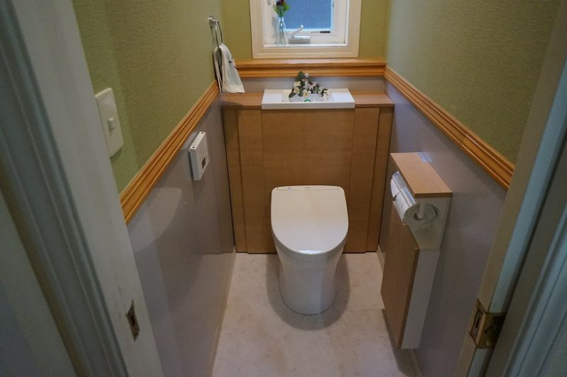 伊豆の国市E様邸トイレ改装工事
