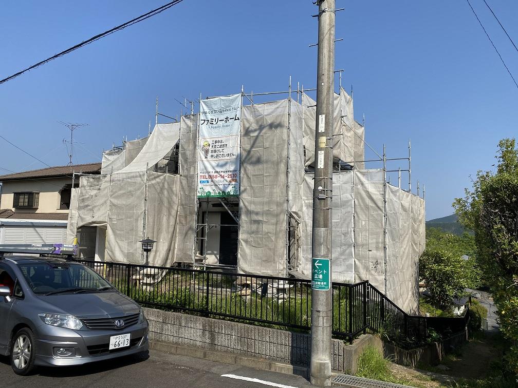 伊豆市Y様邸塗装及び外構工事完了です。
